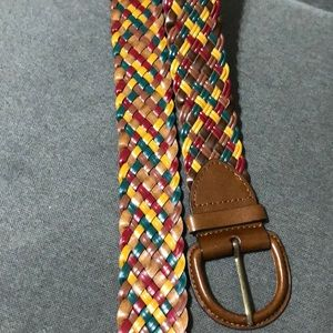 NWOT Aldo multi-color woven belt - Size M